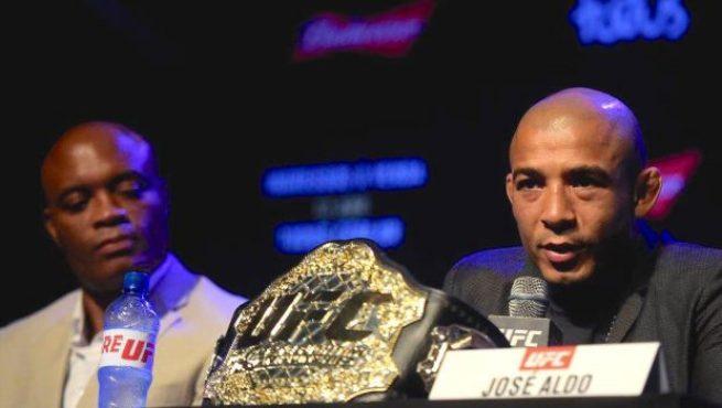 Aldo opinou sobre a carreira de Anderson (Foto:Reprodução/Facebook UFC)