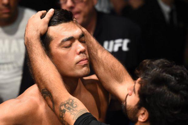 L. Machida agradeceu apoio dos fãs (Foto: Reprodução Facebook UFC)