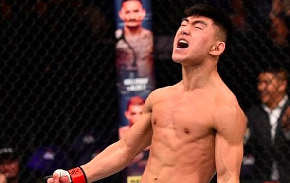 Yadong estreou no UFC com o pé direito (Foto:Reprodução/Instagram UFCBrasil)