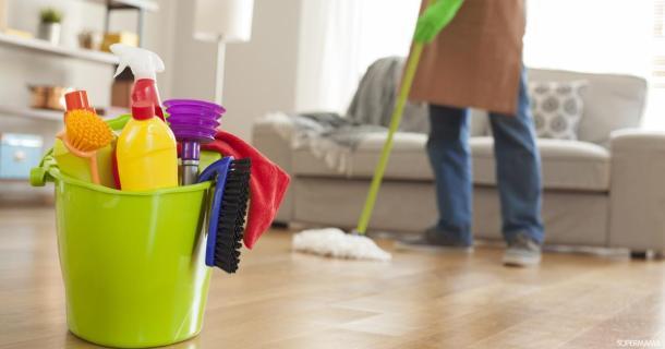 7 خطوات لتنظيف أسرع   سوبر ماما
