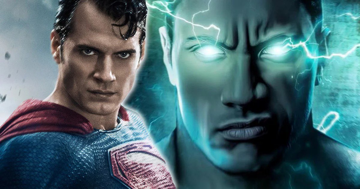 Dwayne Johnson teases cinematic fight with Henry Cavill's Superman