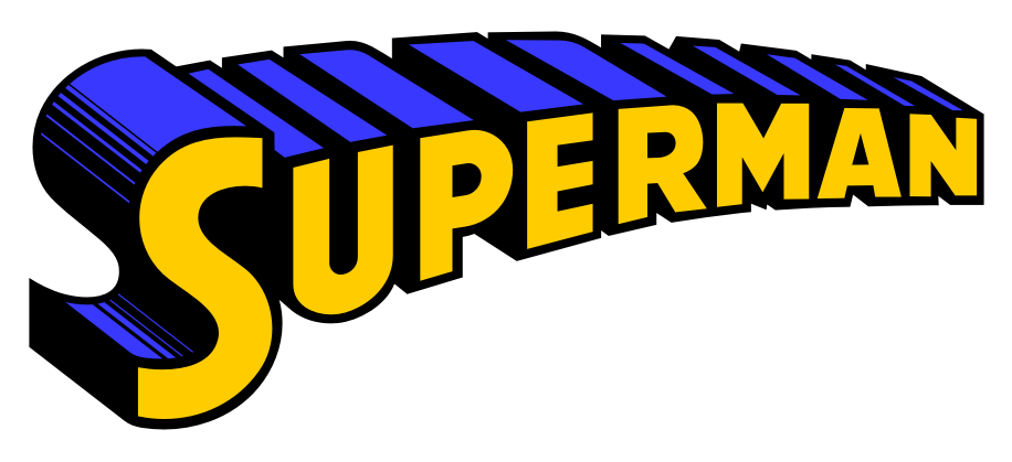 the evolution of the superman word logo superman homepage rh supermanhomepage com superman logo font download free superman logo font photoshop