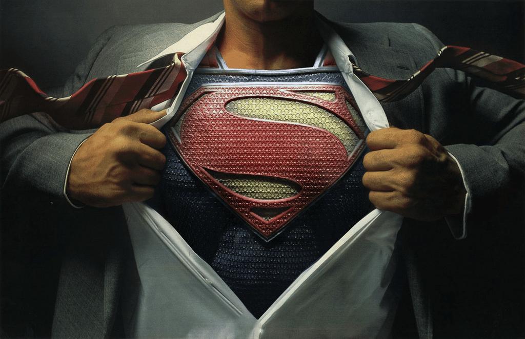 Superman Shirt Rip