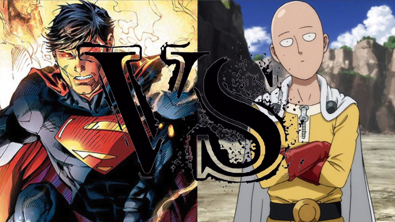 Superman vs One-Punch Man