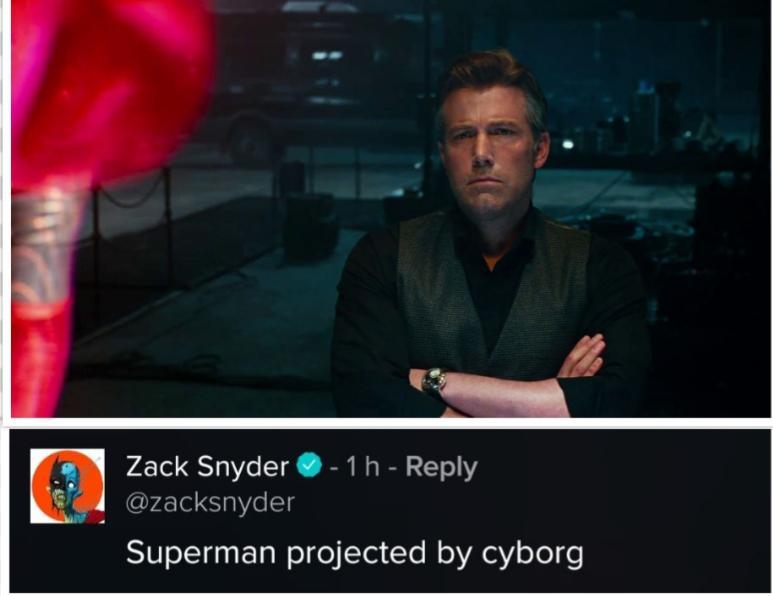 Bruce Wayne Hologram