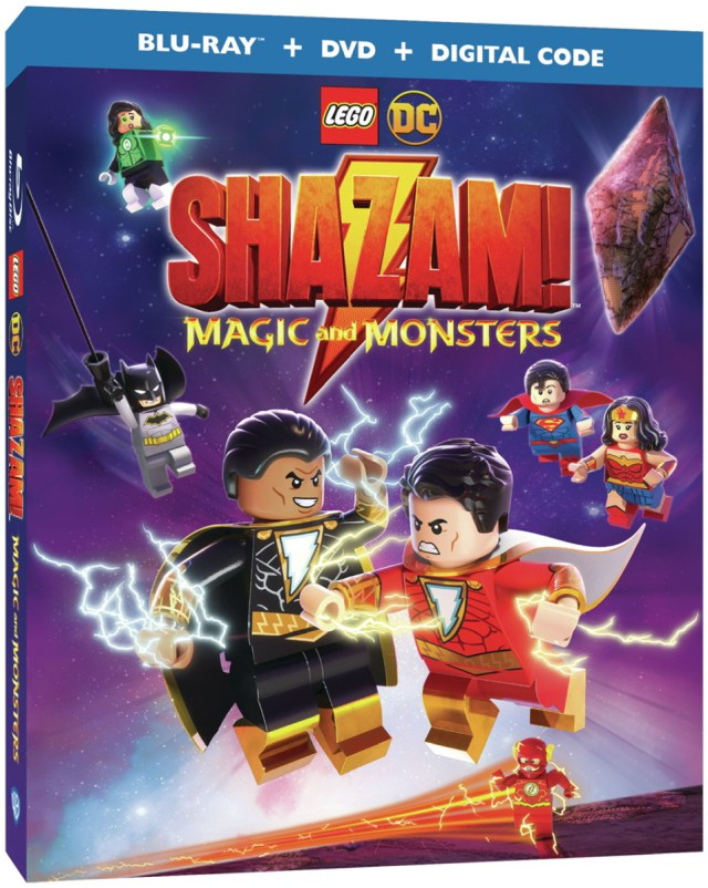 Lego Dc Shazam Magic And Monsters Animated Movie Superman Homepage