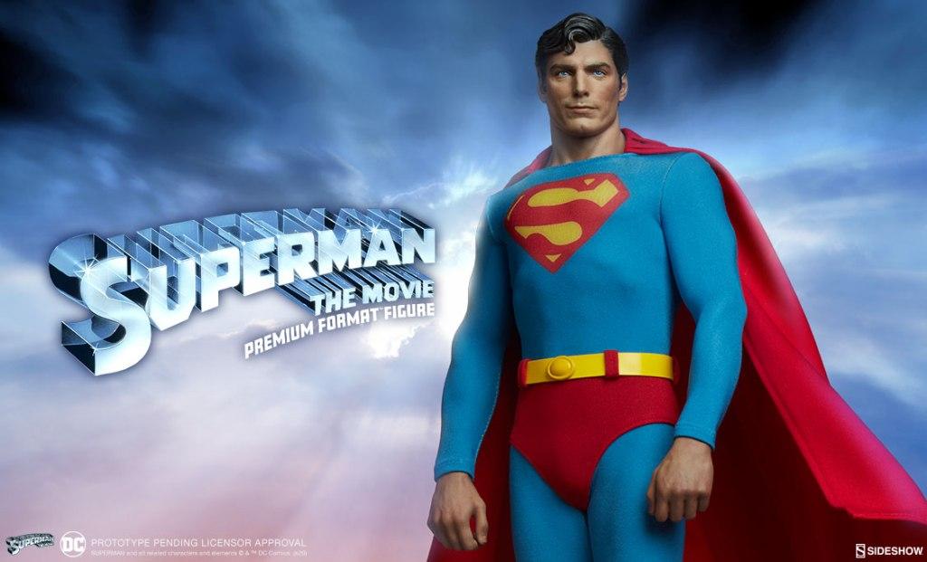"STM PFF - Sideshow presenta la figura Premium Format ""Superman: The Movie"""