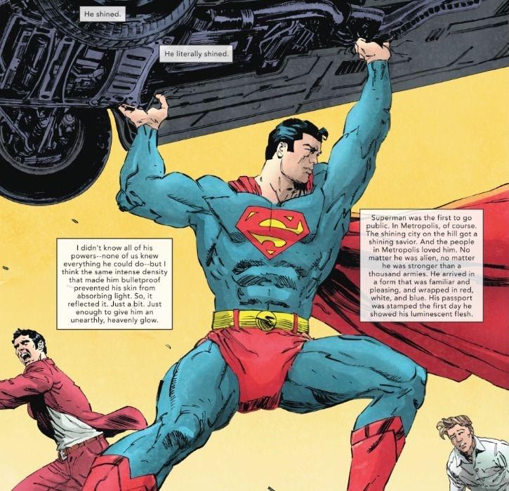 Superman Glows - DC silenciosamente le da a Superman una nueva habilidad