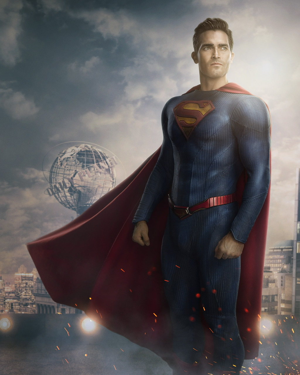 Tyler Hoechlin as Superman