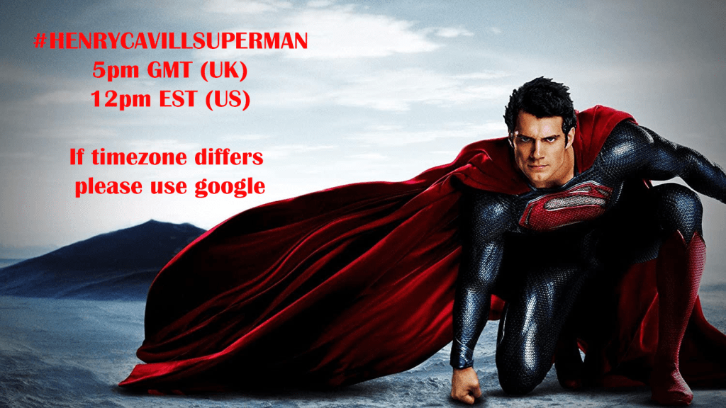 HenryCavillSupermanJan7 - Los fans se movilizan para que Henry Cavill regrese como Superman