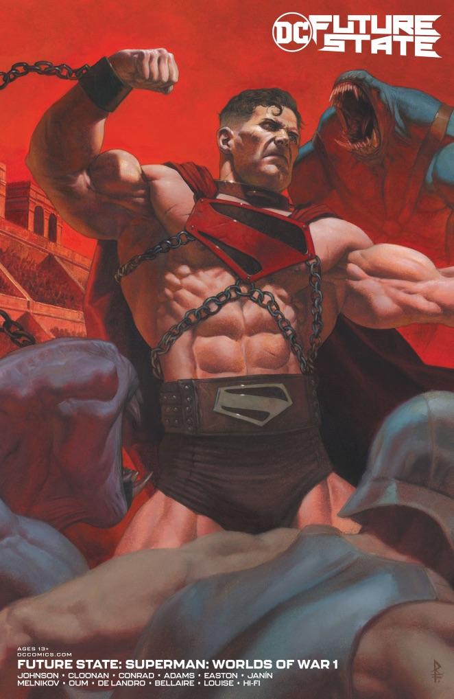 Superman Worlds of War #1