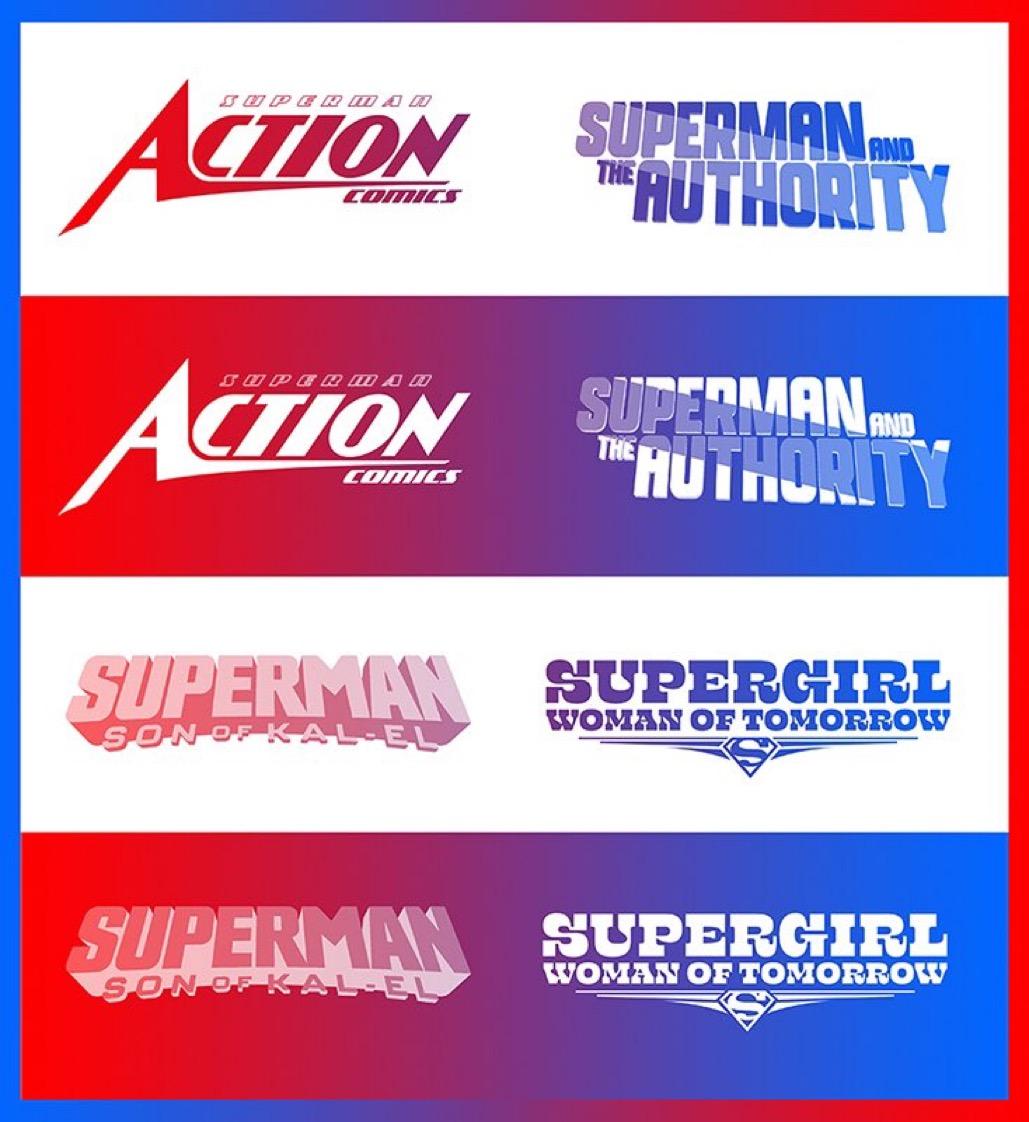 59C56931 32ED 48C4 8FB4 756BBACFFD30 - Nuevos diseños de logos para los cómics de Superman