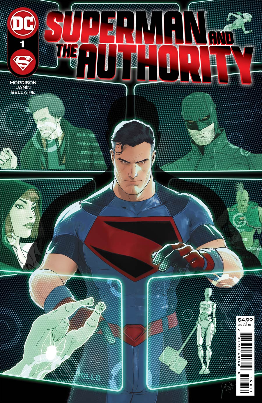 Superman & The Authority #1