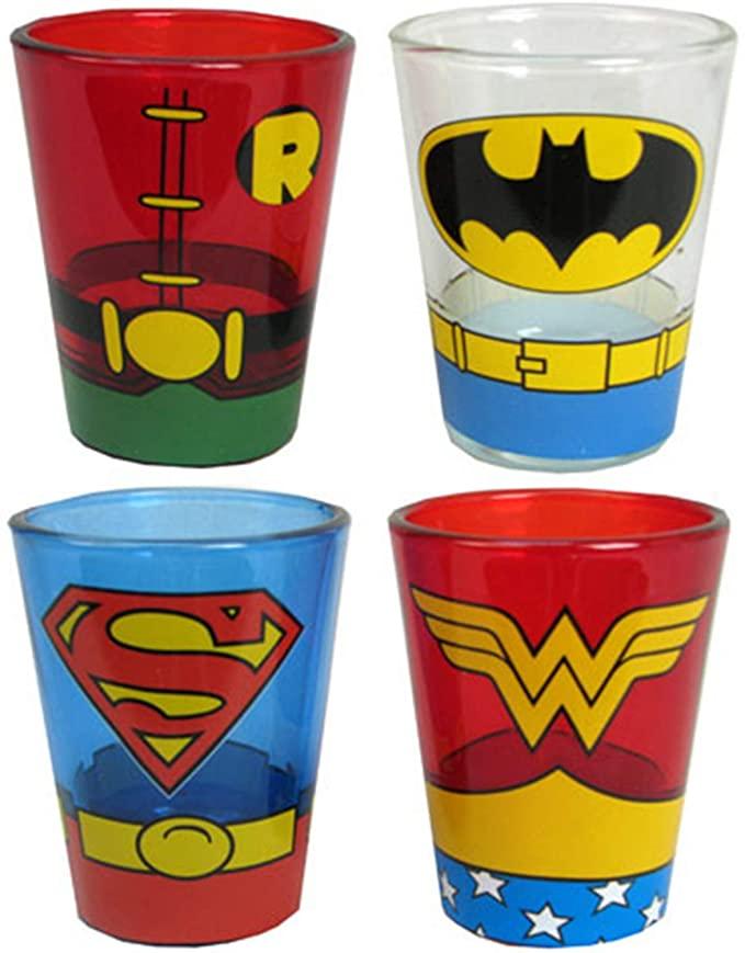 Superman Shot Glasses