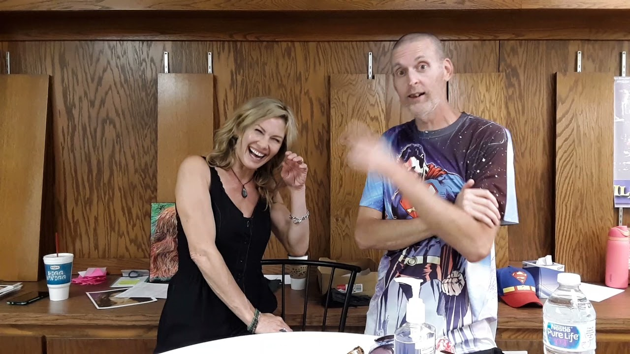 Stacy and Kenny