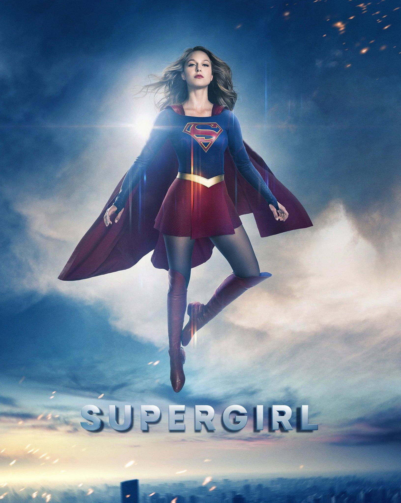 """Supergirl"""" Renewed for Season 3 – Superman Homepage"""