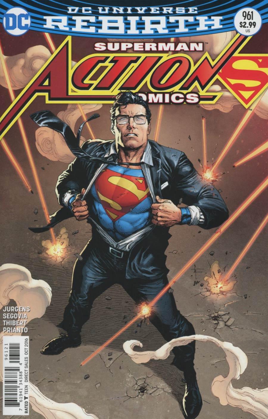 T Opening Shirt Shirt Superman