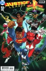 Justice League/Power Rangers #2