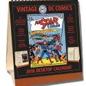 Dc Comics Vintage Desktop 2018 Calendar