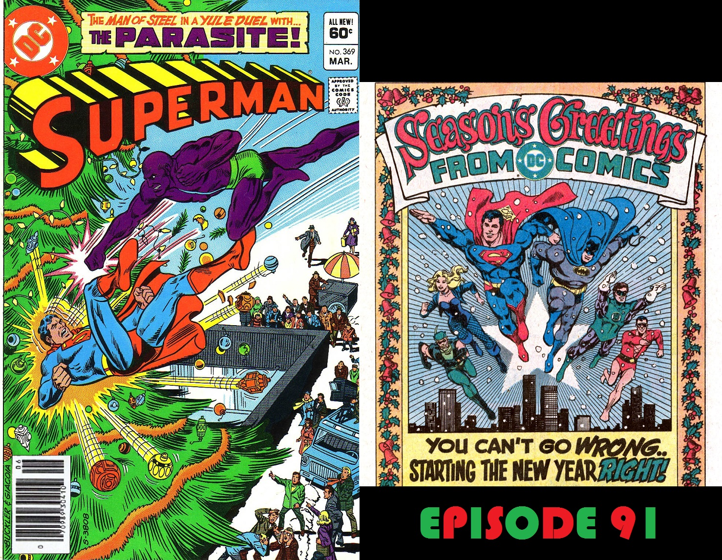 Episode 91 — Superman\'s Last Christmas | Superman in the Bronze Age