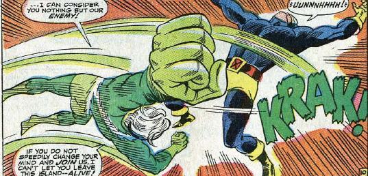 Quicksilver vs. Cyclops