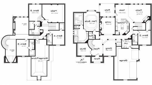 2 story 5 bedroom house plans | amazing house plans