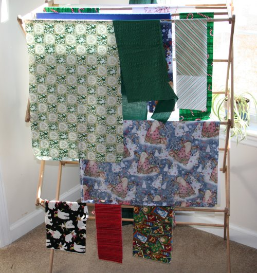 Clothing rack to fabric sorter