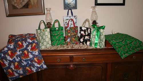 First set of gift bags