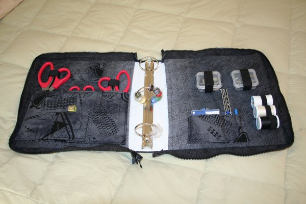 Make It Monday Zippered Binder Sewing Kit Super Mom