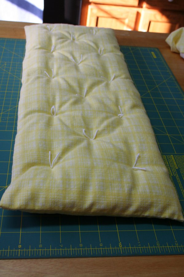 Mattress Tied with Cotton Yard