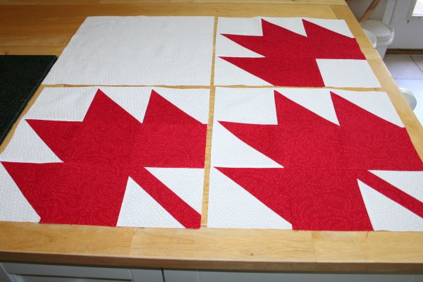 Canadian Quilt of Valour Blocks