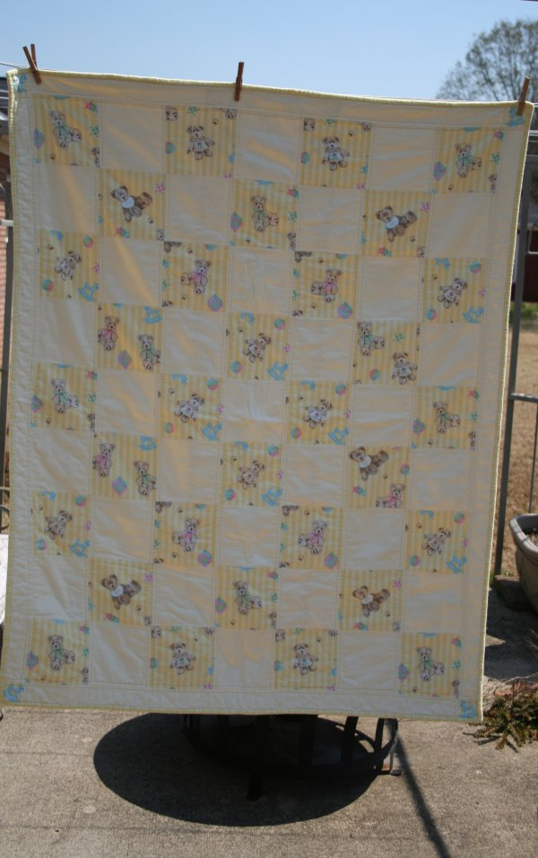 Yellow Bear Quilt