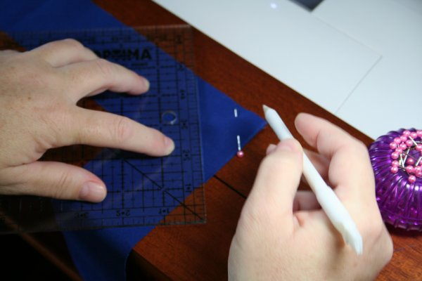Draw diagonal line