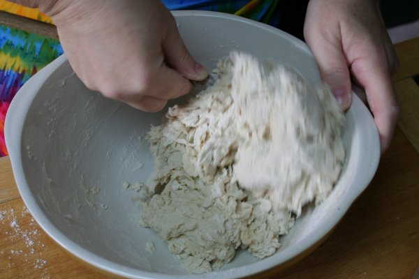 Combine yeast and flour