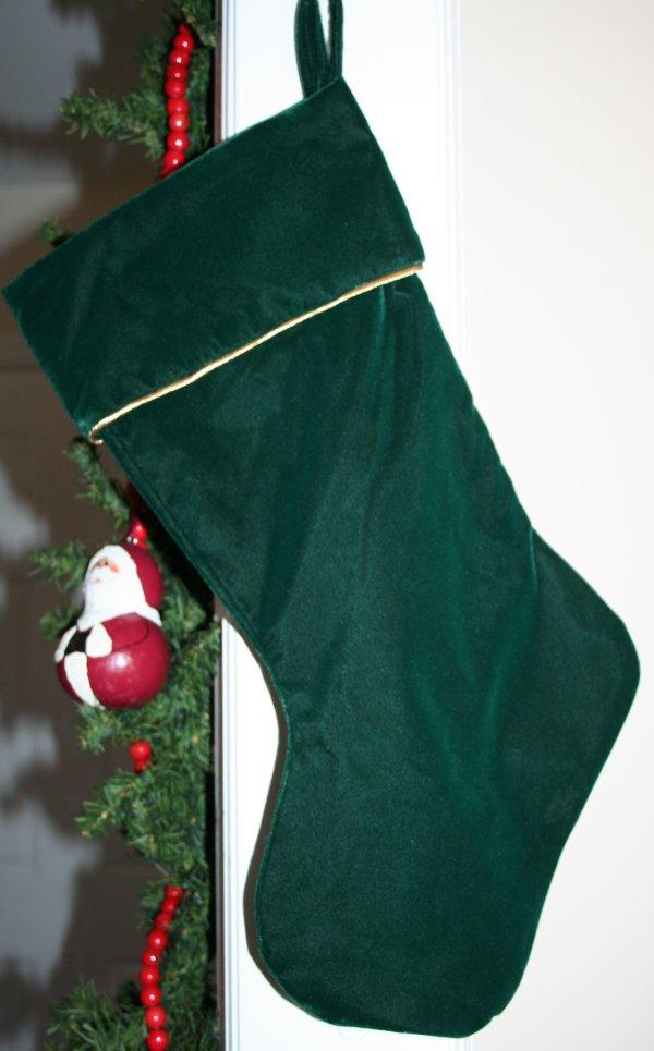 Dave's stocking