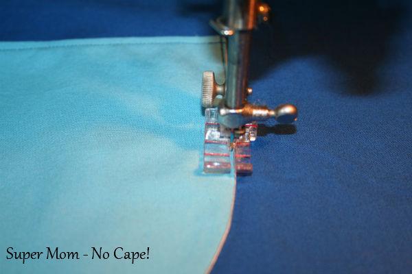 11 - Stitch pocket in place