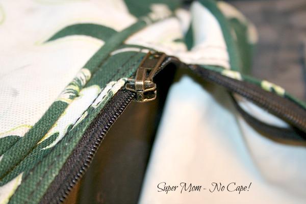 New zipper pull on one zipper of zipper