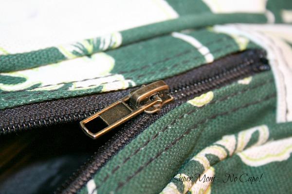 New Zipper pull installed