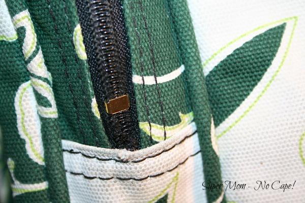 Add zipper stop to bottom of zipper