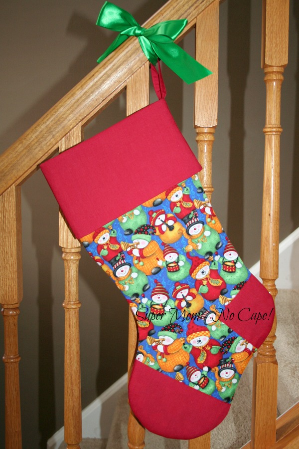 Snowmen Musical Band Stocking