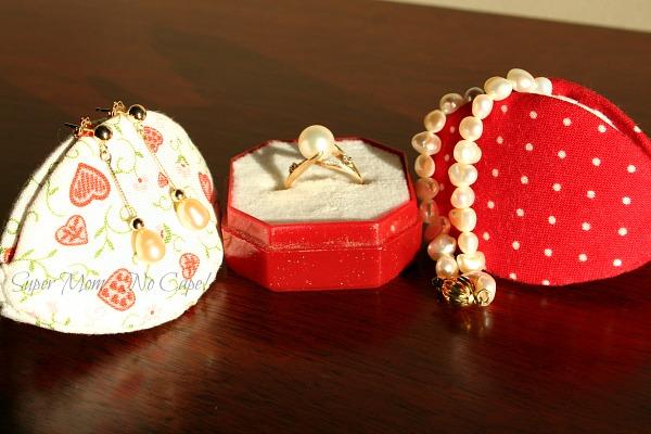 Valentine's Pips with Jewelery