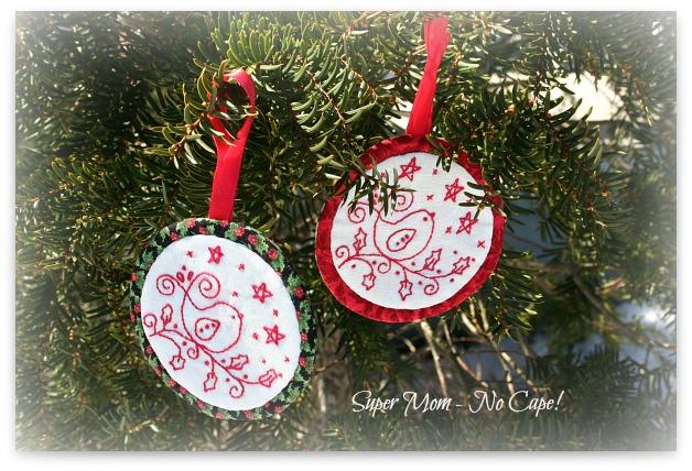 Bird Christmas Ornaments
