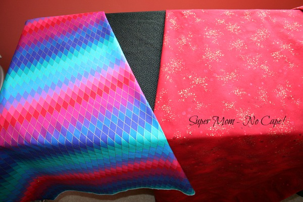 Fabrics for the Tree Bird Blog Hop project