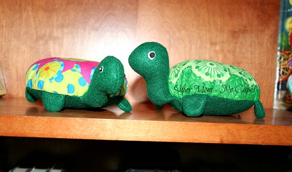 Lanie and Rexie Hexie Turtles