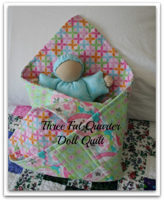 Cover for Doll Quilt Pattern