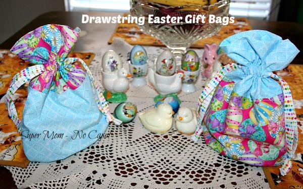 Drawstring Easter Gift Bags