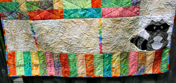 More free motiong quilted leaves