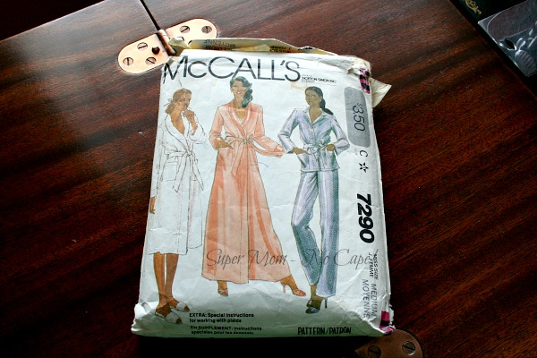 McCall's Pattern #7290 from the earlier eighties