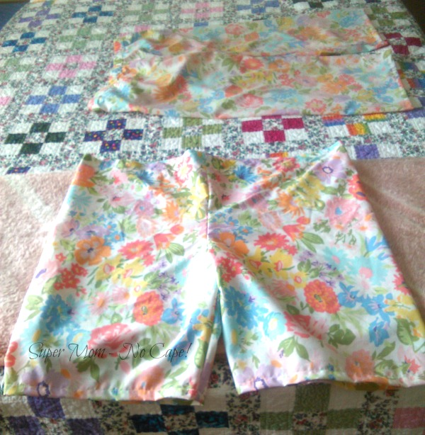 pj shorts almost finished