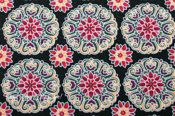 Jacobean Arbor inspired by Partrica Campbell for Timeless Treasures Patt# PCAM-C3778